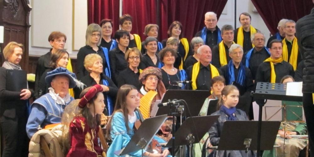 Concert Renaissance à Eybens, sept 2015
