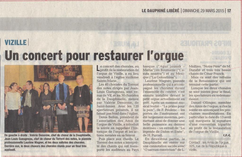 Article concert Vizille cp