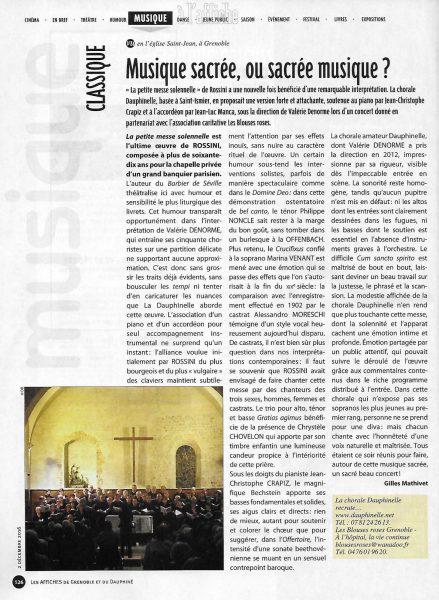 Les Affiches, 02/12/2016
